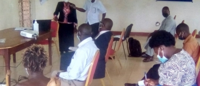 CAO Butaleja addressing stake holders